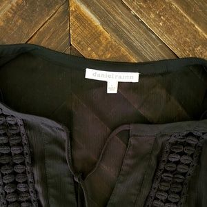 Daniel Rainn Sheer Black Blouse from Stitchfix